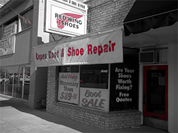 Cope's Boot and Shoe Repair Shop